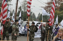Auburn, WA Veterans Parade. More cheers than catcalls!!!!!