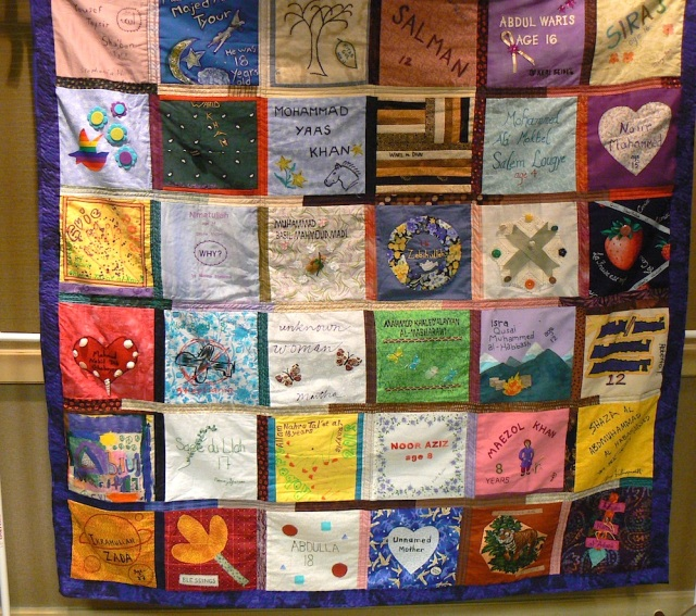 08/13 Madison VfP Convention Drone Quilt