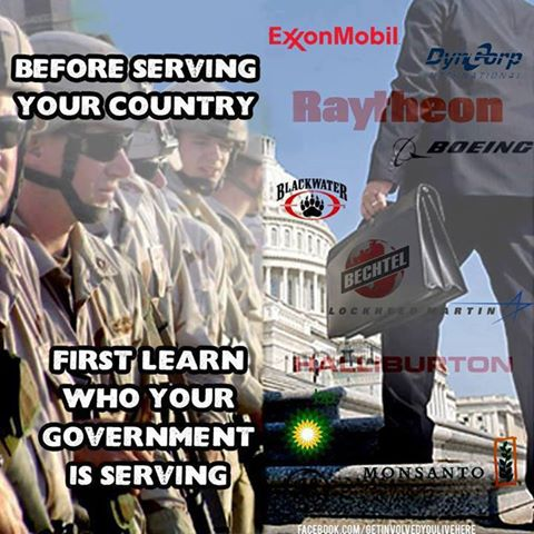 Before serving your country